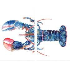 Mr Lobster Canvas Wall Art