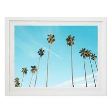Tall Palms Framed Wall Art