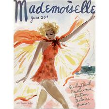 Mademoiselle Canvas Wall Art