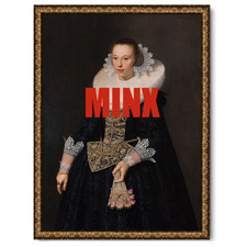 Minx Canvas Wall Art