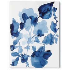 Calm Bloom Canvas Wall Art