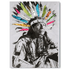 Chief Daydream Canvas Wall Art