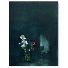Dark Vases Canvas Wall Art