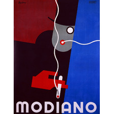 Vintage Modiano Canvas Wall Art