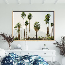 Desert Love Canvas Wall Art
