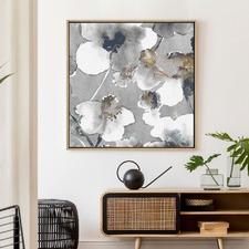 Wild At Heart Drop Shadow Framed Canvas Wall Art