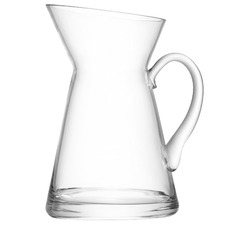Flower Jug Clear Glass Vase