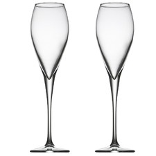 Monte Carlo Champagne Flutes (Set of 6)