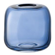 Sapphire Molten Cube Vase