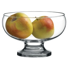 Contemporary Footed Glass Bowl