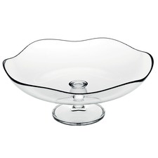 Toscana Footed Glass Service Plate