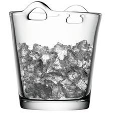 Clear Glass Bar Ice Bucket