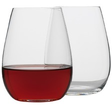 Otto Stemless Wine Glasses (Set of 8)