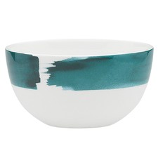 Watercolour Fern Fine Bone China Rice Bowl (Set of 6)