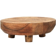 Mason Footed Wooden Serving Stand