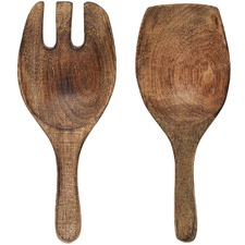 2 Piece Mason Wooden Salad Server Set