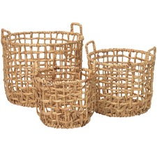 3 Piece Thread Nesting Basket Set