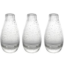 Halo Droplet Icicle Vases (Set of 3)