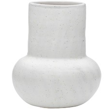 Speckled Malmo Terracotta Vase