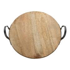 Arcadian Round Wooden Centrepiece Board