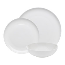 Ecology White Canvas Dinner Set 12 Piece