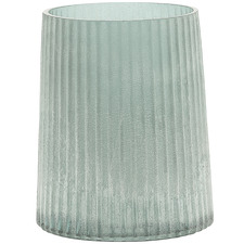 11cm Frosted Opal Eyre Glass Vase