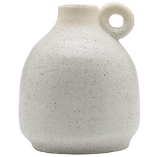 14cm Clay Handle Ceramic Vase