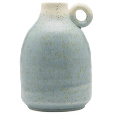 19cm Opal Handle Ceramic Vase