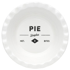 Staples Foundry 13cm Porcelain Shallow Pie Dish