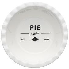 Staples Foundry 13cm Porcelain Deep Pie Dish