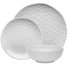 Ecology Speckle Milk Stone Dinner Set 12 Piece