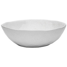 Speckle Milk 27cm Stone Serving Bowl