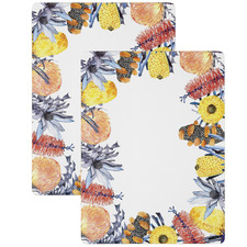 Large Florae Wooden Placemats (Set of 2)