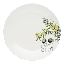 White Wattle 21cm Fine China Side Plate