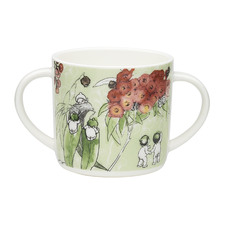 Green Gumnut 220ml Bone China Mug