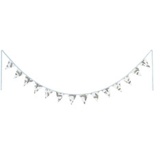 275cm White Wattle Cotton Bunting