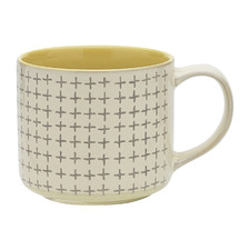 Lemon Carbon 340ml Stoneware Mug