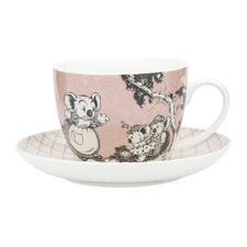 2 Piece Coral Blinky Bill Cup & Saucer Set