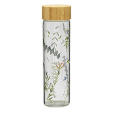 Greenhouse 550ml Glass Bottle with Lid