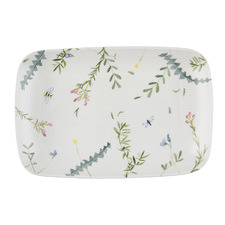 Greenhouse Rectangular Fine China Platter
