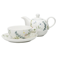 3 Piece Greenhouse Fine China Tea for One Set