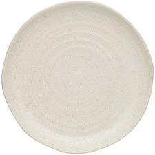 Cream Ottawa Calico 27.5cm Stoneware Dinner Plate
