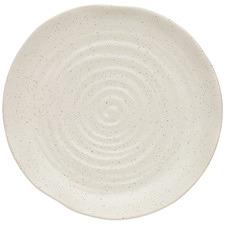 Cream Ottawa Calico  21cm Stoneware Side Plate