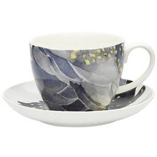 2 Piece Paradiso Cockatoo 430ml Cup & Saucer Set