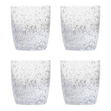 4 Piece Pollock 240ml Glass Tumblers Set