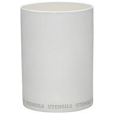 White Ecology Abode Porcelain Utensil Holder
