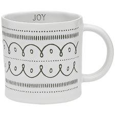 Green Ecology Tidings Joy 350ml Stoneware Mug
