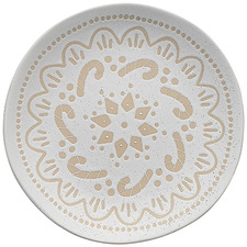 Ecology Shortbread Candy Cane 20.5cm Stoneware Side Plate