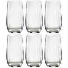 Ecology Twill 490ml Highball Glasses (Set of 6)