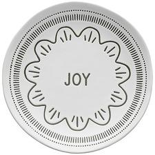 Green Ecology Tidings Joy 20.5cm Stoneware Side Plate